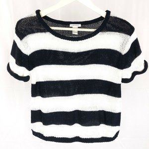 (O-09) Forever 21 Women's Small Stripe Sweater